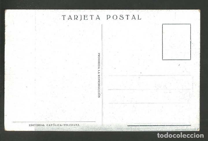 Postales: TOLEDO-ESTACION-SALON REGIO-EDITORIAL CATOLICA-VER REVERSO-(60.242) - Foto 2 - 167985108