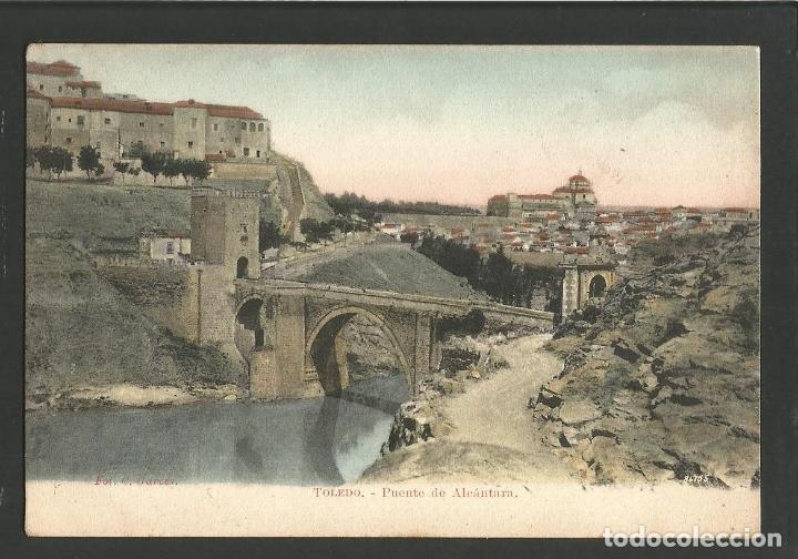 TOLEDO-PUENTE DE ALCANTARA-FOT·C.GARCES-VER REVERSO SIN DIVIDIR-(60.248) (Postales - España - Castilla La Mancha Antigua (hasta 1939))