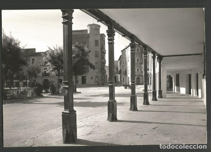 TARANCON-PLAZA DEL CAUDILLO-12-ED·VISTABELLA-VER REVERSO-(60.253) (Postales - España - Castilla La Mancha Antigua (hasta 1939))