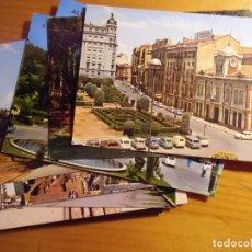 Cartes Postales: ALBACETE.LOTE DE 9 POSTALES AÑOS 60-70.. Lote 168955528