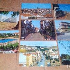 Postales: ALMADEN (CIUDAD REAL) - LOTE DE 8 POSTALES AÑOS 70. Lote 169225200