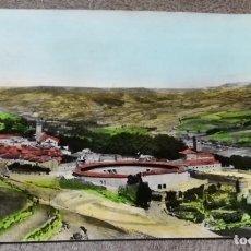 Postales: FOTO POSTAL DE BRIHUEGA (GUADALAJARA), PLAZA DE TOROS Y JARDINES, CIRCULADA EN 1967.. Lote 169237616