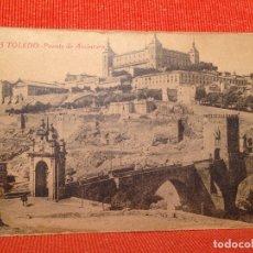 Postales: TOLEDO PUENTE DE ALCANTARA. Lote 169433072
