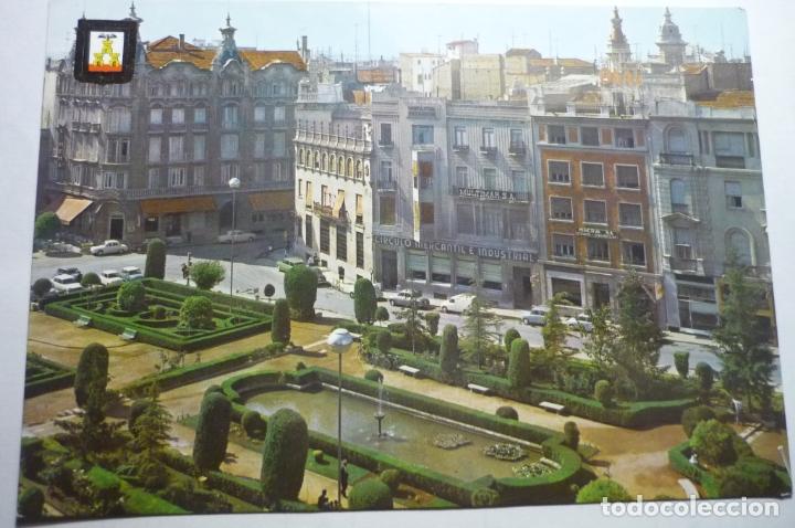 POSTAL ALBACETE ,.PL.CAUDILLO (Postales - España - Castilla la Mancha Moderna (desde 1940))