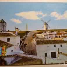 Postales: POSTAL CAMPO CRIPTANA -CIUDAD REAL MOLINOS MANCHEGOS. Lote 170102716