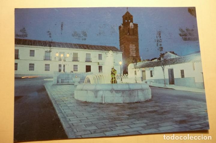 POSTAL GALVEZ - VISTA PARCIAL FUERTE Y TORRE MUDEJAR -CIRCULADA (Postales - España - Castilla la Mancha Moderna (desde 1940))