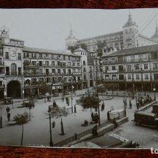 Postales: FOTO POSTAL DE TOLEDO, PLAZA ZOCODOVER, NO CIRCULADA. NO PONE EDITORIAL.. Lote 170185692