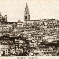 Postales: TOLEDO. VISTA PARCIAL. HELIOTIPIA ARTISTICA ESPAÑOLA. NO ESCRITA. Lote 170362824