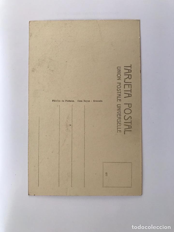 Postales: ALCÁZAR DE SAN JUAN (Ciudad Real) Postal. Animada. Iglesia de los R. P. Trinitarios (h.1930?) - Foto 2 - 171102182