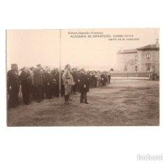 Postales: TOLEDO.- ACADEMIA DE INFANTERÍA. CURSO 1913-14. VISITA DE M. POINCARÉ.. Lote 171138475