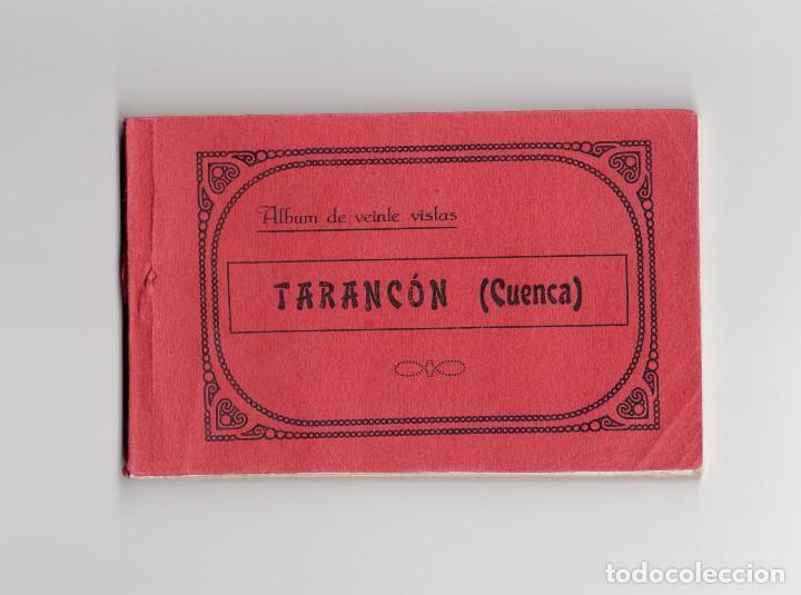 TARANCÓN.(CUENCA).- ALBUM. BLOCK. 20 POSTALES CON PUBLICIDAD. BUEN ESTADO.ED. JOSE MOLERO (Postales - España - Castilla La Mancha Antigua (hasta 1939))