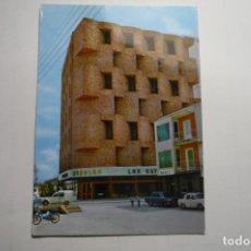 Postales: POSTAL VILLACAÑAS -MUEBLES LOS CATALANES -COCHES SEAT CIRCULADA. Lote 171499008