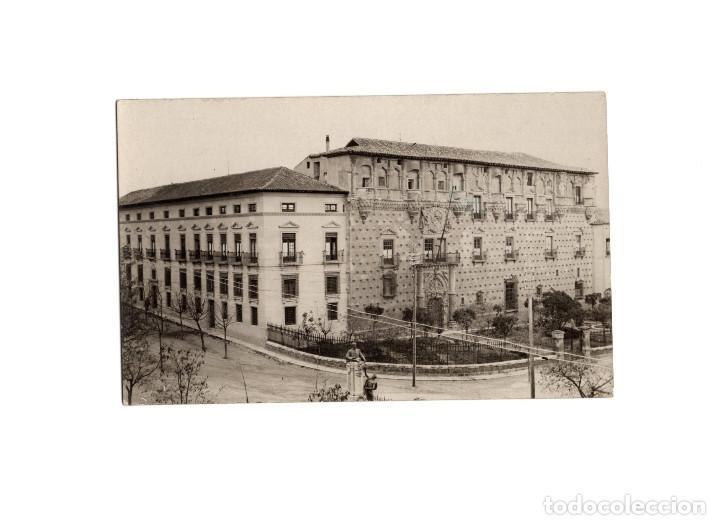 GUADALAJARA.- PALACIO DUQUES DEL INFANTADO. HACIA 1920. POSTAL FOTOGRÁFICA (Postales - España - Castilla La Mancha Antigua (hasta 1939))