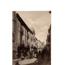 Postales: POSTAL DE TALAVERA DE LA REINA.(TOLEDO).- CALLE DE SAN FRANCISCO. RUIZ DE LUNA.. Lote 171731558
