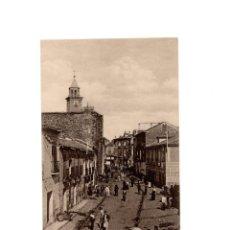 Postales: POSTAL DE TALAVERA DE LA REINA.(TOLEDO).- CALLE DE CARNECERIAS. RUIZ DE LUNA.. Lote 171732269
