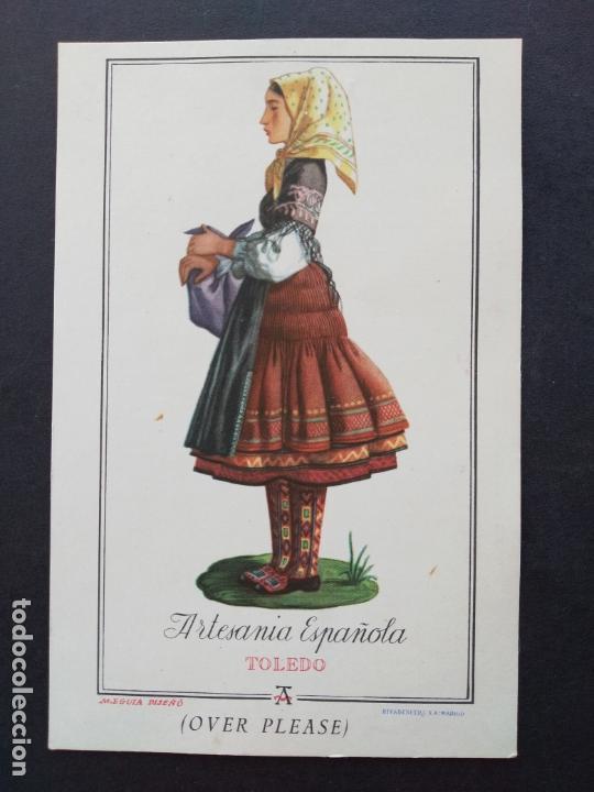 TOLEDO MUJER TOLEDANA (Postales - España - Castilla La Mancha Antigua (hasta 1939))