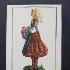 Postales: TOLEDO MUJER TOLEDANA. Lote 171772052