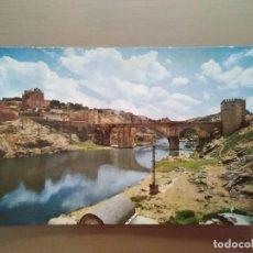 Postales: POSTAL TOLEDO PUENTE DE SAN MARTIN. Lote 171790590