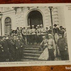 Postales: POSTAL DE CIUDAD REAL, GUARDIA DE PREVENCION, COLECCION 2.ª N.º16, GABINETE FOTOGRAFICO DE LA ACADEM. Lote 172826213