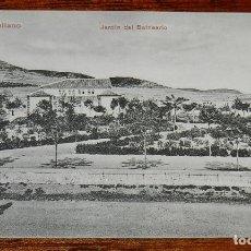 Postales: POSTAL DE PUERTOLLANO.(CIUDAD REAL). JARDIN DEL BALNEARIO. NO CIRCULADA.. Lote 173011009