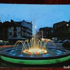 Postales: FOTO POTAL DE CUENCA, FUENTE LUMINOSA Y PLAZA DE CANOVAS, ED. SICLIA 34, SIN CIRCULAR. Lote 173046264