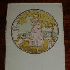 Postales: PROGRAMA DEL CASINO DE CIUDAD REAL, DOMINGO 7 DE NOVIEMBRE DE 1920, BAILE EN HONOR DE LOS JEFES Y OF. Lote 173145180