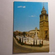 Postales: POSTAL TALAVERA DE LA REINA.PL.PAN Y COLEGIATA.-CIRCULADA. Lote 173354659