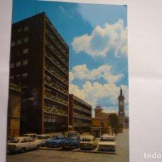 Postales: POSTAL GUADALAJARA . PL.BELADIEZ -COCHES SEAT -CIRCULADA. Lote 173558723