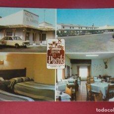 Postales: POSTAL HOTEL EL PUERTO, BAR RESTAURANTE - PUERTO LAPICE - LA MANCHA, CIUDAD REAL ... L240. Lote 173737415