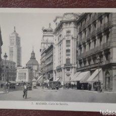 Postales: POSTAL ANTIGUA DE MADRID. Lote 174309980