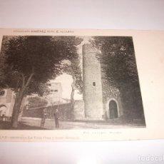 Postales: 1901 TARJETA POSTAL DE BRIHUEGA GUADALAJARA - LA VERA CRUZ Y TORRE BERMEJA - COLECCION XIMENEZ . Lote 174403838