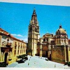 Postales: POSTAL - ESPAÑA, TOLEDO, CATEDRAL, VISTA GENERAL. Lote 174446880