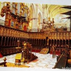 Postales: POSTAL - ESPAÑA, TOLEDO, CATEDRAL, CORO. Lote 174459083