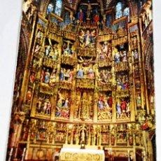 Postales: POSTAL - ESPAÑA, CATEDRAL, RETABLO MAYOR. Lote 174459179