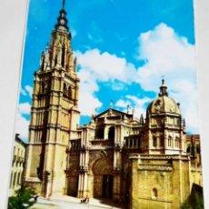 Postales: POSTAL - ESPAÑA, TOLEDO, CATEDRAL, FACHADA PRINCIPAL. Lote 174459269