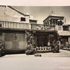 Postales: TOLEDO. POSTAL NO. 27, JARDIN DE LA CASA DEL GRECO. EDITA: DOMÍNGUEZ. FOTO J. CEBOLLERO (H.1960?). Lote 175302313
