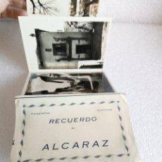 Postales: BLOCK CON 6 POSTALES RECUERDO DE ALCARAZ - ALBACETE - EDCIONES ARRIBAS. Lote 175522515