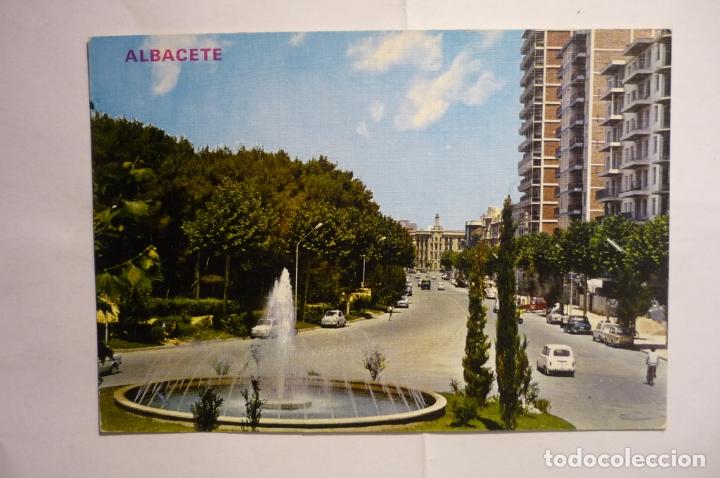 POSTAL ALBACETE - AV.RODRIGUEZ ACOSTA (Postales - España - Castilla la Mancha Moderna (desde 1940))