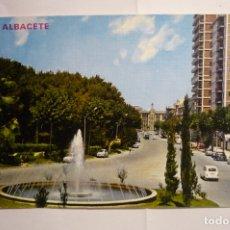 Postales: POSTAL ALBACETE - AV.RODRIGUEZ ACOSTA. Lote 175548142