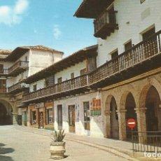 Postales: TARAZONA DE LA MANCHA. BALCONADA, ARCOS AYUNTAMIENTO Y ARCOS LA CAPULLA. JOSÉ PICAZO. 1972.. Lote 175682203