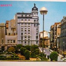 Postales: POSTAL ALBACETE - PL.CAUDILLO. Lote 176337920