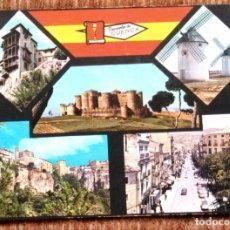 Postales: CUENCA - VISTAS DE LA CIUDAD. Lote 176893718