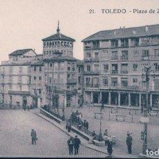 Cartes Postales: POSTAL TOELDO . PLAZA DE ZOCODOVER - 21 AEH. Lote 176980918