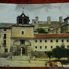 Postales: FOTO POSTAL DE MOLINA DE ARAGON, PLAZA DE CALVO SOTELO, N.5, POSTALES VICTORIA. NO CIRCULADA, ESCRI. Lote 177029518