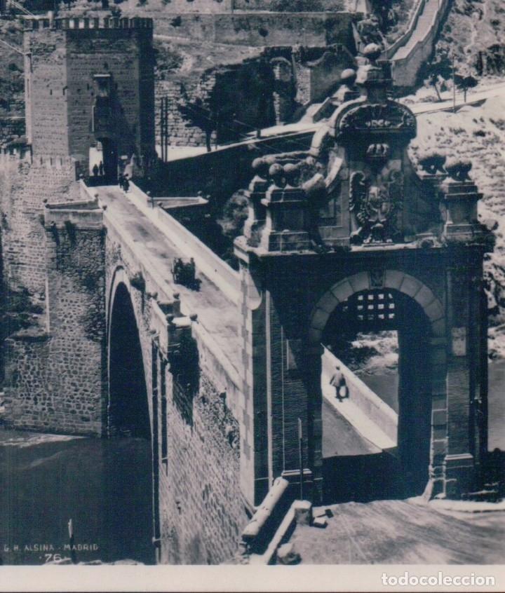POSTAL TOLEDO - PUENTE DE ALCANTARA - ALSINA - MARGARA (Postales - España - Castilla La Mancha Antigua (hasta 1939))