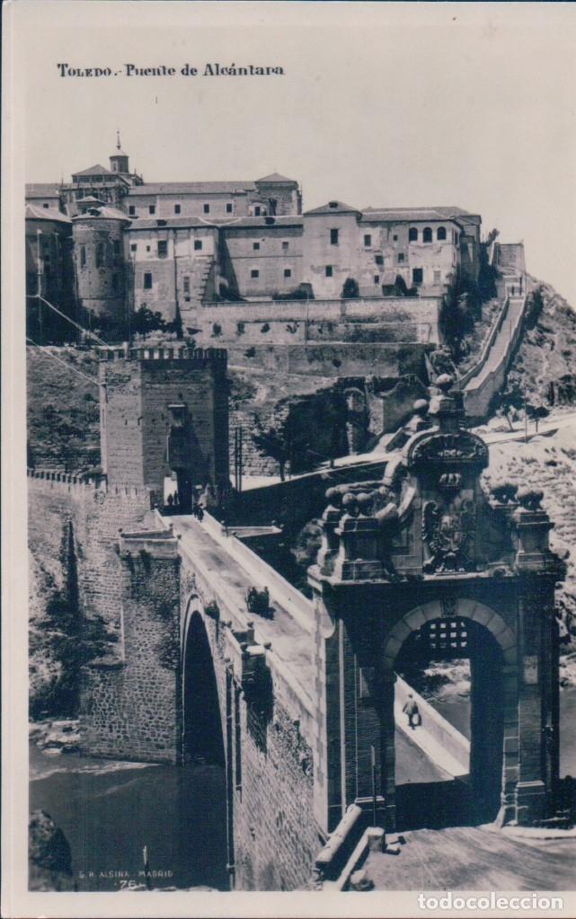 Postales: POSTAL TOLEDO - PUENTE DE ALCANTARA - ALSINA - MARGARA - Foto 2 - 177239127