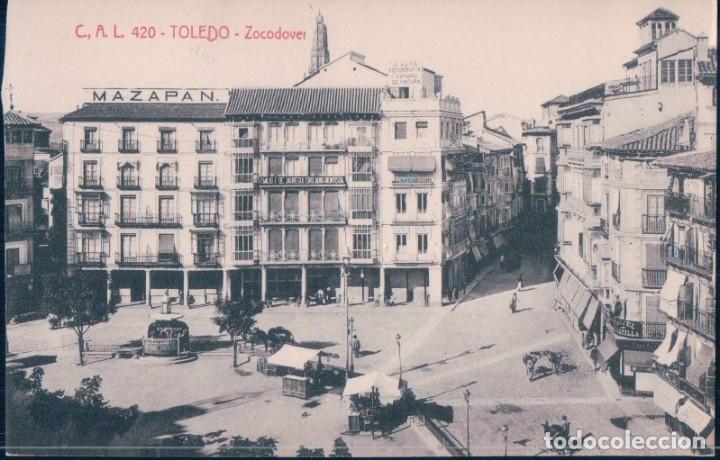 POSTAL TOLEDO - ZOCODOVER - C A Y L 420 - CASTAÑEIRA (Postales - España - Castilla La Mancha Antigua (hasta 1939))