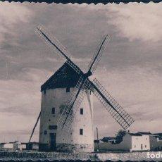 Postales: POSTAL VALDEPEÑAS - MOLINO MUSEO MANCHEGO - GREGORIO PRIETO - LA GALANA. Lote 178112539