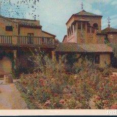Postales: POSTAL TOLEDO 14 - CASA DEL GRECO - JARDIN - H A E - FOTO COLOR MANEN. Lote 178894718