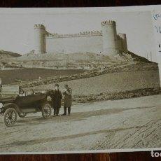 Postales: FOTO POSTAL DE TALAVERA DE LA REINA (TOLEDO), CASTILLO DE MAQUEDA ABRIL DE 1921, SIN CIRCULAR. Lote 179221046
